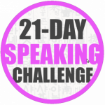 Group logo of 21-day Speaking Challenge